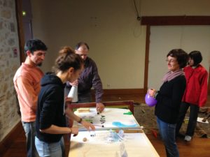 Deep Listening workshop in Gentioux